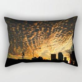 The Crack of Dawn Rectangular Pillow