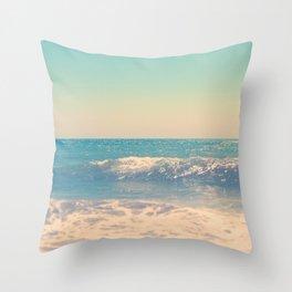 Martha's Vineyard Beach Photo Throw Pillow