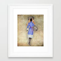 russia Framed Art Prints featuring Russia by Dany Delarbre