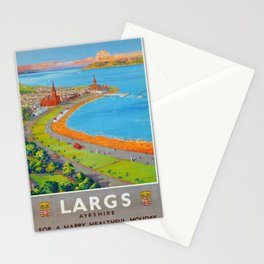 ancienne affiche Largs Stationery Cards