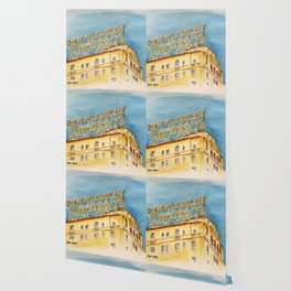 The Hollywood Roosevelt Hotel - Golden Era Icon on Hollywood Blvd Wallpaper
