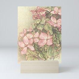 Satomi Dogwood, Pencil Sketch II Mini Art Print