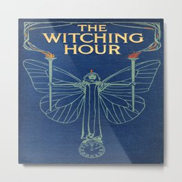 The Witching Hour Book Metal Print