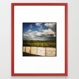Layers of Harvest Framed Art Print