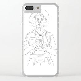 Vivian Maier Clear iPhone Case
