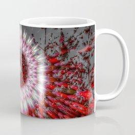 Mix natural-abstract mandala in holiday mood Coffee Mug