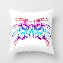 Smoke Spider Crab 2 Throw Pillow