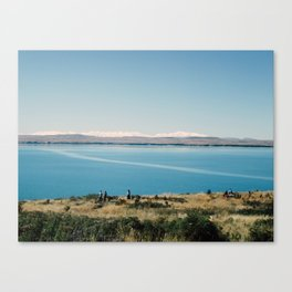Twizel- Omarama road- New Zealand Canvas Print