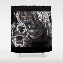 Coping With Fred Shower Curtain