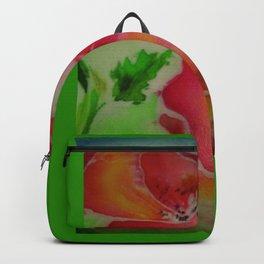 scarlet poppy on fabric towel, decorative panel clock tray furniture mug, Cup bag notebook cushion b Backpack