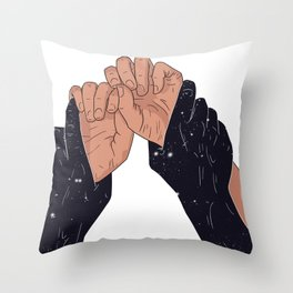 TIGHTLY Throw Pillow