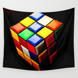 Rubiks Cube Wall Tapestry