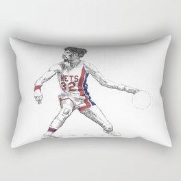 Dr. J Rectangular Pillow