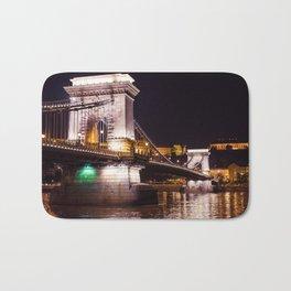 Szechenyi Chain Bridge   Budapest Bath Mat