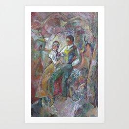 The Jaunt Art Print