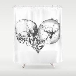 Cœur Perdu Shower Curtain