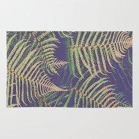 fern Area & Throw Rugs featuring Fern by 83 Oranges™