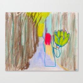 Artichoking Canvas Print