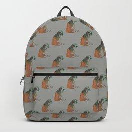 Watercolor Beagle Backpack