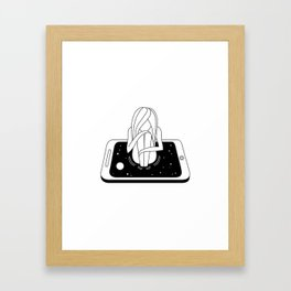 Internet Addiction Framed Art Print