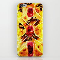 anatomy iPhone & iPod Skins featuring Anatomy by Jose Luis