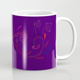 Purplered ornaments Coffee Mug