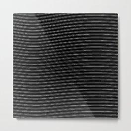 Impossible Lines Metal Print