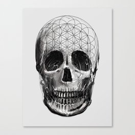 Sacred Skull Canvas Print
