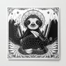 Son of Sloth Metal Print