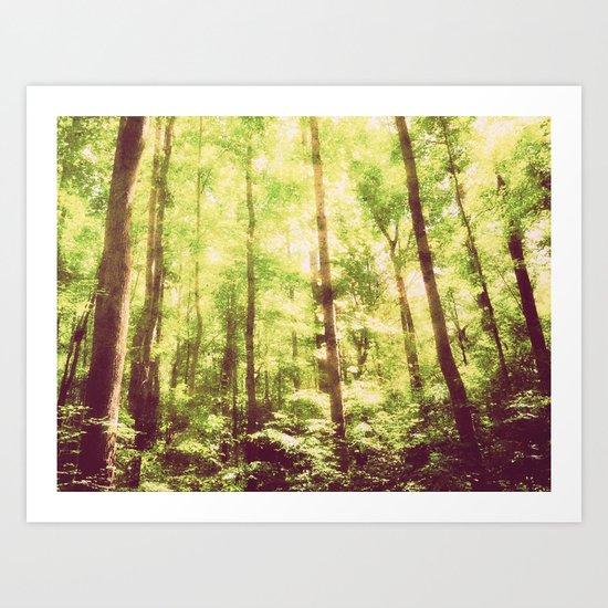 Untamed Forest Art Print