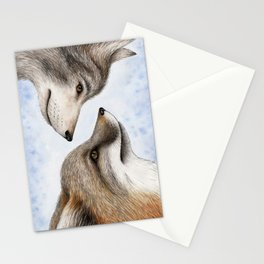 Vanishing Canadian Canids Stationery Cards