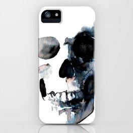 Skull White iPhone Case