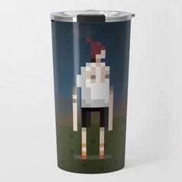 Bondi Hipsters in 8-Bit. (Dom) Travel Mug
