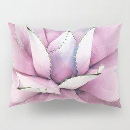 Pink Succulent Pillow Sham