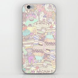 The Sweet Forest Pattern iPhone Skin