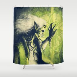 Powerful Shower Curtain
