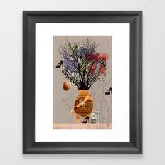 A dream for a lifetime · Maria Framed Art Print