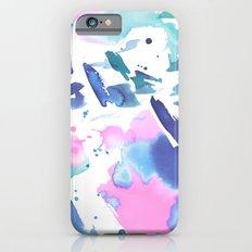 Watercolor Splash iPhone 6s Slim Case