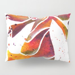 Colorful Angel Acrylic Abstract Painting by Saribelle Rodriguez Pillow Sham