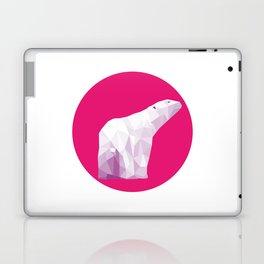 Magenta Polar Bear Laptop & iPad Skin