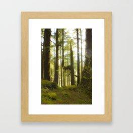 4est Framed Art Print