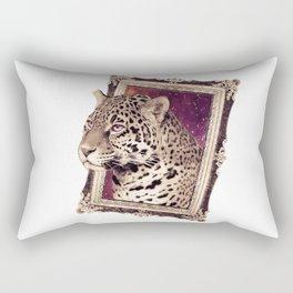 Space Jaguar Rectangular Pillow