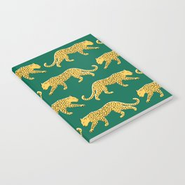 The New Animal Print - Emerald Notebook