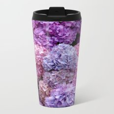 Spring Hydrangeas 2 Metal Travel Mug