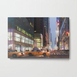 Midtown Rush - NYC Photography Metal Print