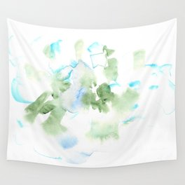 180515 Watercolour Abstract  Wp 17| Watercolor Brush Strokes Wall Tapestry