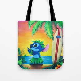 Rainbow Stitch Tote Bag