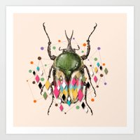 insect Art Prints featuring Insect VII by dogooder