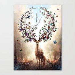 Seasons Change Canvas Print