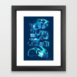 Dungeon Crawlers Framed Art Print